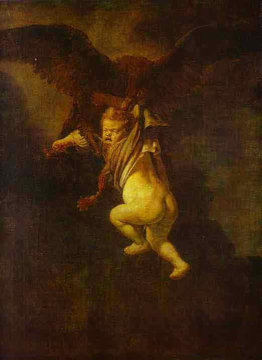 The Abduction of Ganymede. 1635
