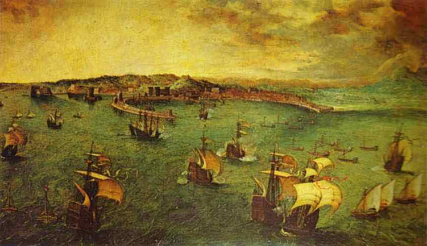 The Bay of Naples. 1556
