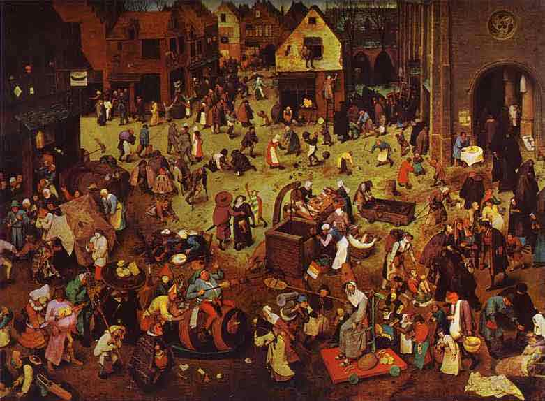 The Fight between Carnival and Lent. 1559