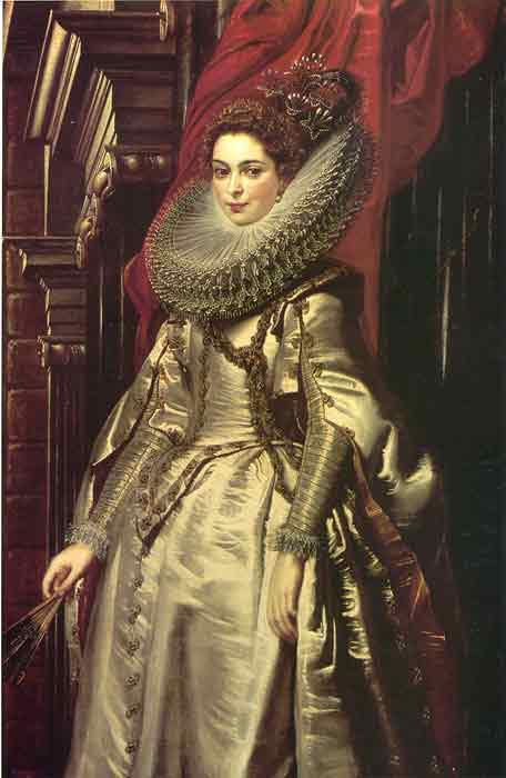 Oil painting for sale:Portrait of Marquise Brigida Spinola-Doria, 1606