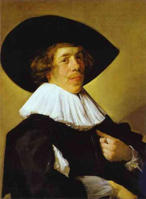 Oil painting:Portrait of a Man. c. 1630