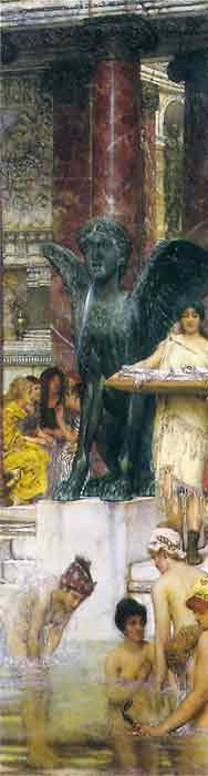 Oil painting for sale:A Bath (An Antique Custom), 1876