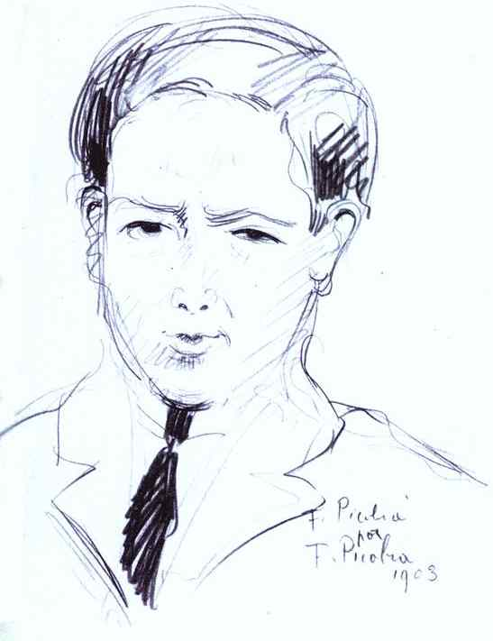 Oil painting:F. Picabia by F. Picabia. 1903