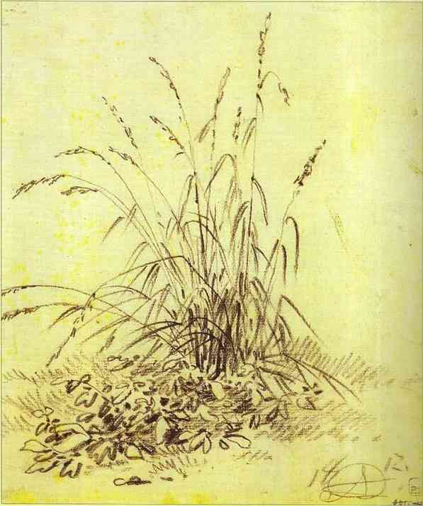 Oil painting:Grass. 1812