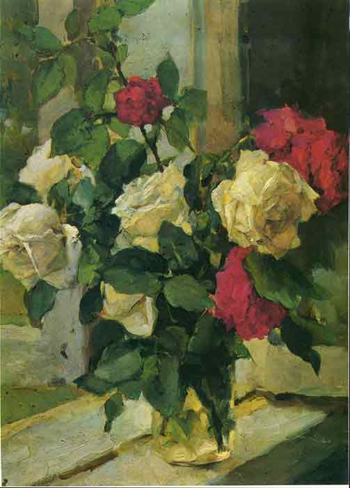 Oil painting for sale:Roses, 1958
