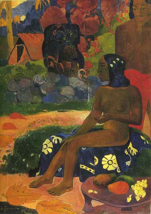 Oil painting for sale:Viaraumati Tei Oa (Her Name is Vairaumati) 1892