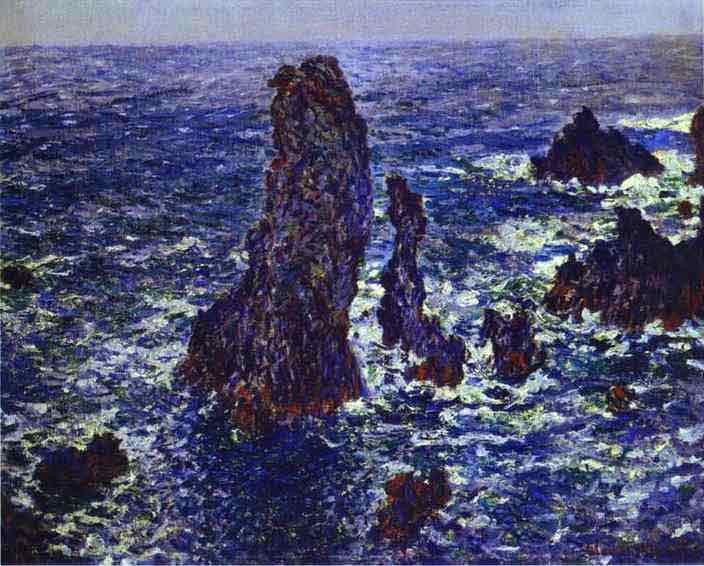 Cliffs at Belle-Ile 1886.