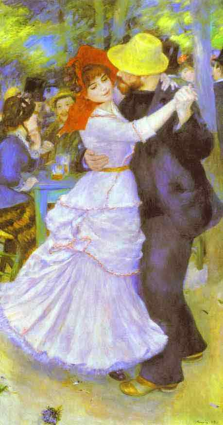 Dance at Bougival (Suzanne Valadon and Paul Lhote). 1883