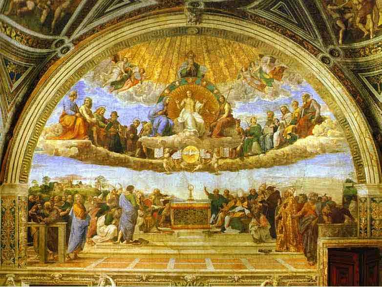 Disputa. 1510-1511