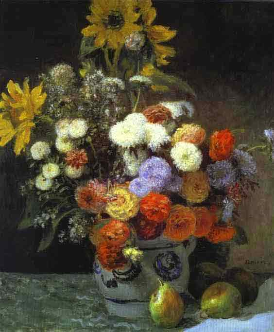 Flowers in a Vase. 1869