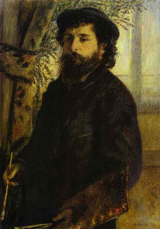 Portrait of Claude Monet. 1875