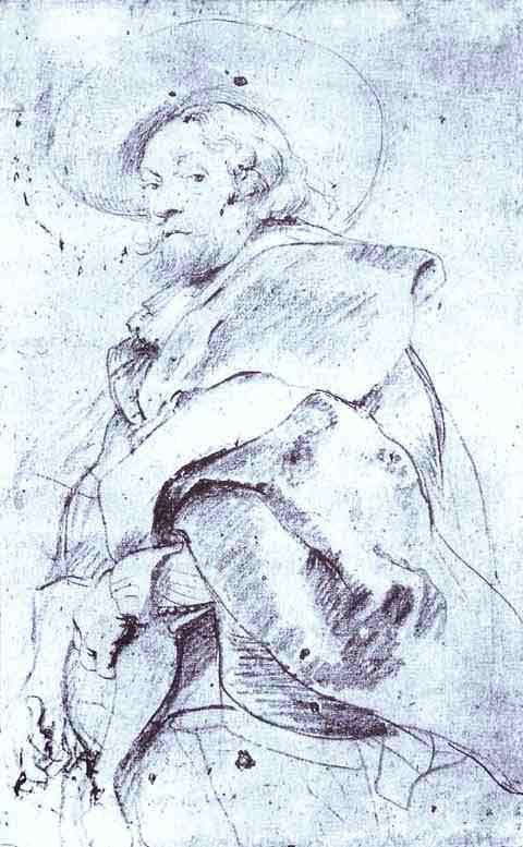 Self-Portrait. Study. 1639