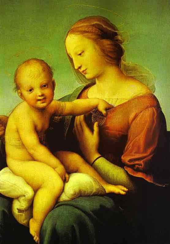 The Niccolini-Cowper Madonna. 1508