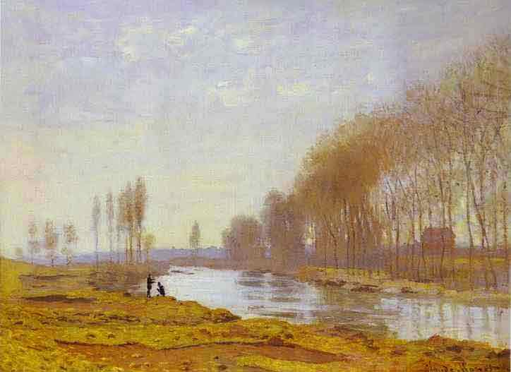 The Petite Bras of the Seine at Argenteuil 1872.