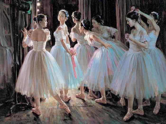 Oil painting for sale:Ballet_1