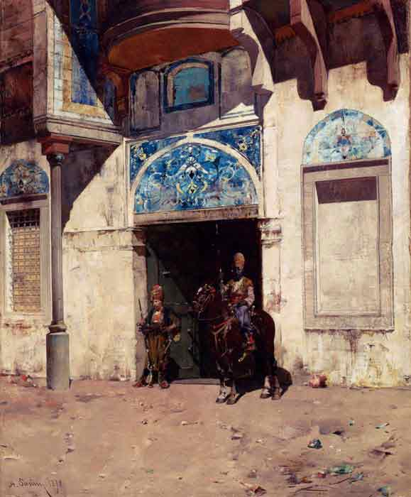 Oil painting for sale:The Palace Guard, 1878