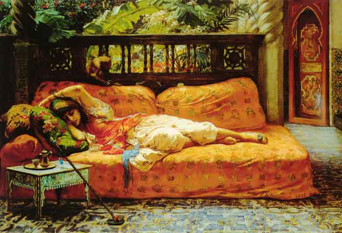 Oil painting for sale:The Siesta, 1878