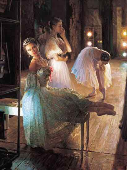 Oil painting for sale:Ballet_34