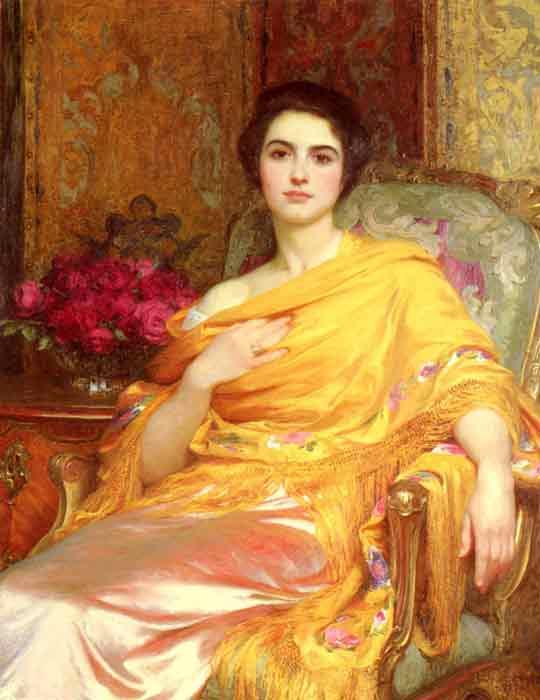 Oil painting for sale:Portrait of Elsa