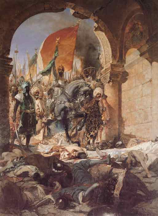 Oil painting for sale:The Entry of Mahomet II into Constantinople, 1876