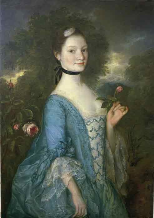 Oil painting for sale:Lady Innes, 1757