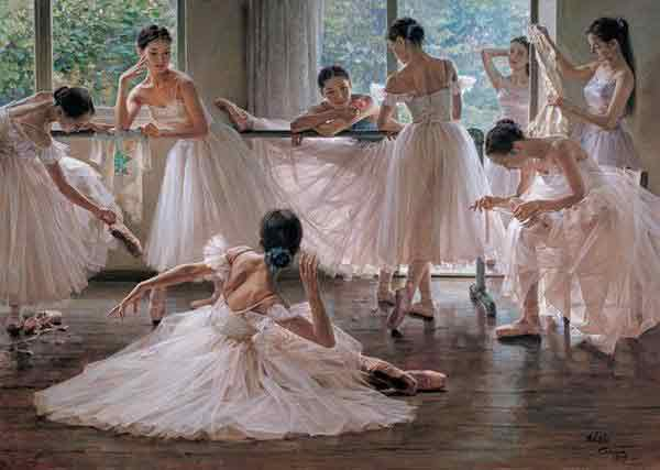 Oil painting for sale:Ballet_13