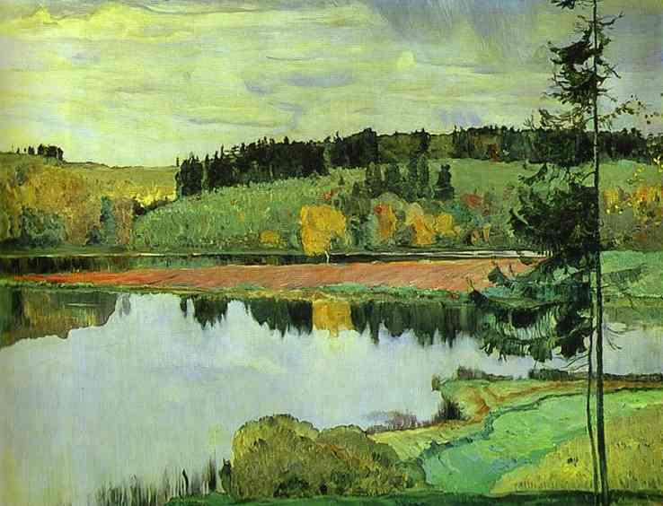 Oil painting:Autumn. 1906
