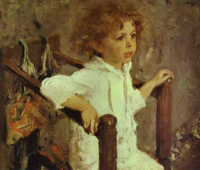 Oil painting:Mika Morozov. 1901