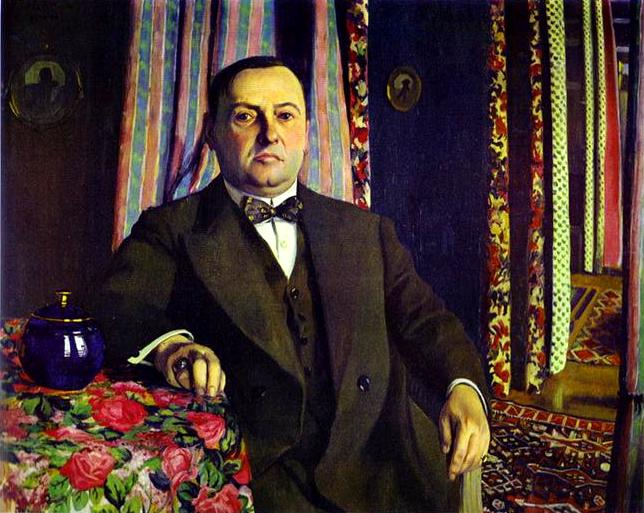 Oil painting:Portrait of Georges Haasen. 1913