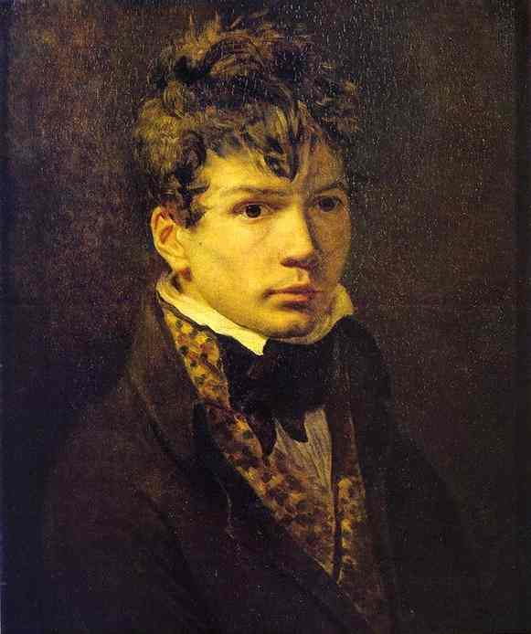 Oil painting:Portrait of Young Ingres