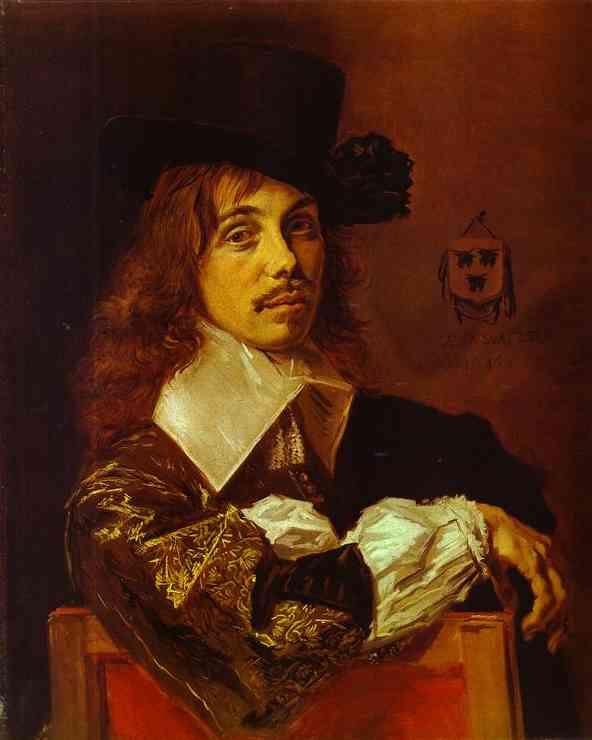 Oil painting:Willem Coymans. 1645