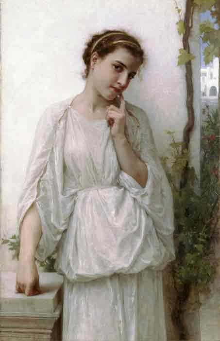 Oil painting for sale:Reverie [Revery], 1894