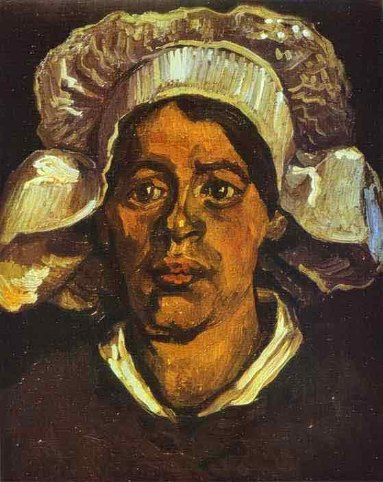 A Peasant Woman in White Cap. May 1885
