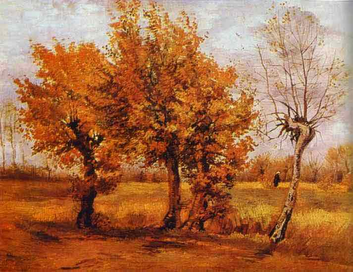 Autumn Landscape with Four Trees. November 1885