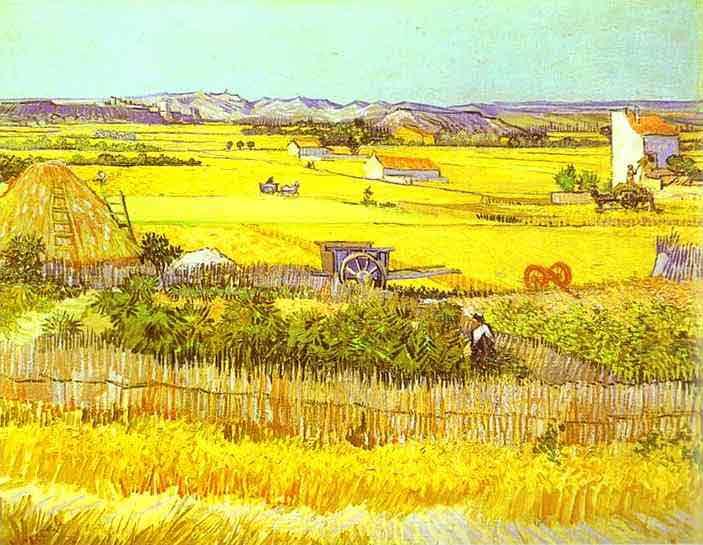 Harvest Landscape. June 1888