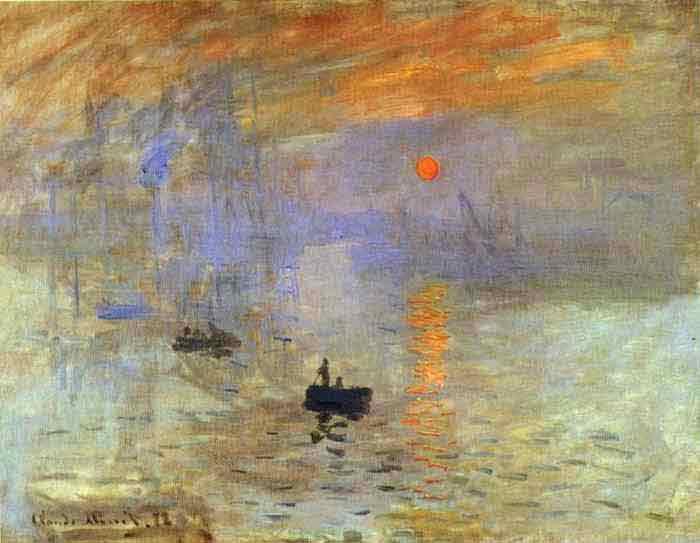 Impression: Sunrise 1873.