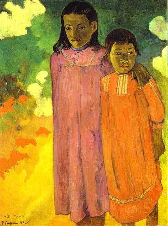 Piti Teina. (Two Sisters). 1892.