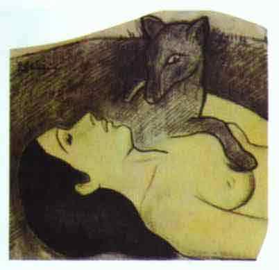 Study for La perte de Pucelage (The Loss of Virginity). c.1890