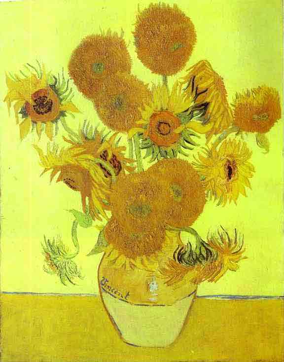 Sunflowers. 1888