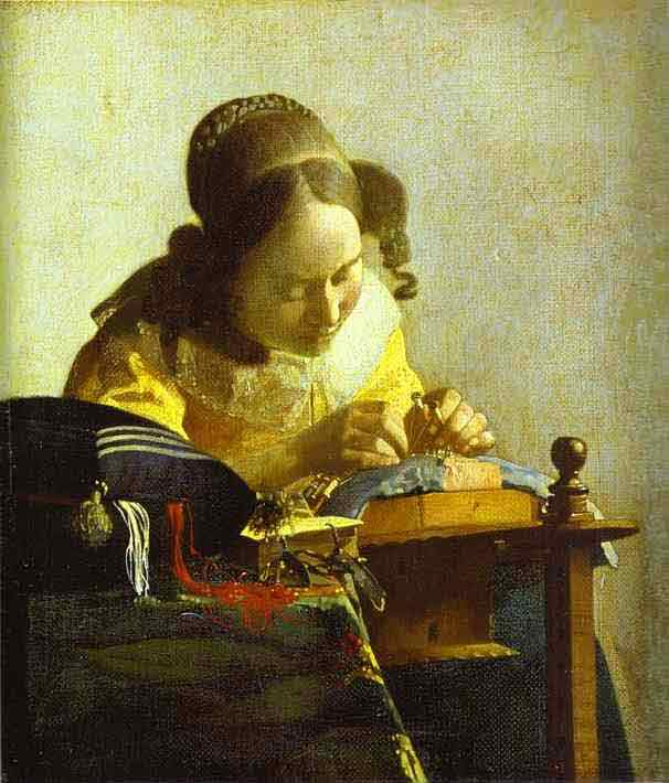 The Lacemaker. c.1669