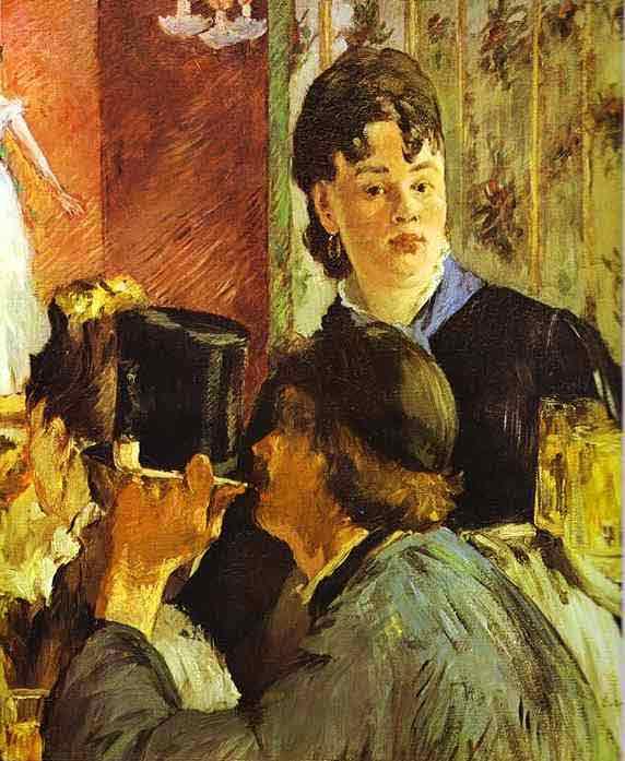 The Waitress. c.1879