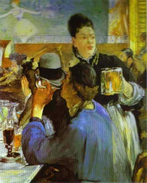 The Waitress. 1879