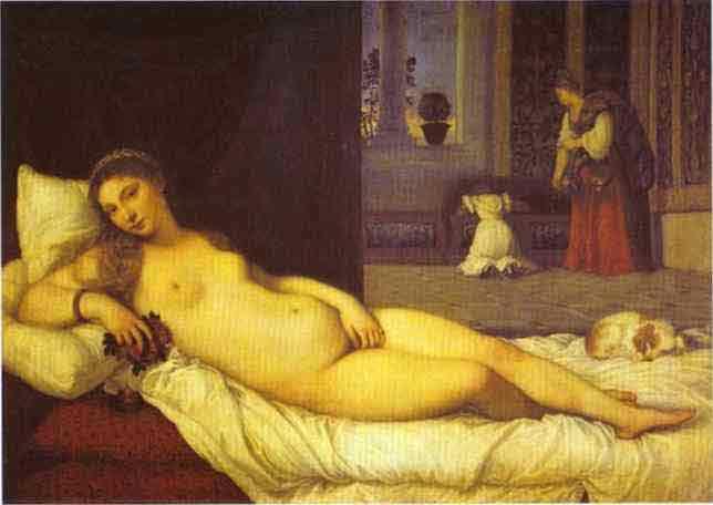 Venus of Urbino. 1538
