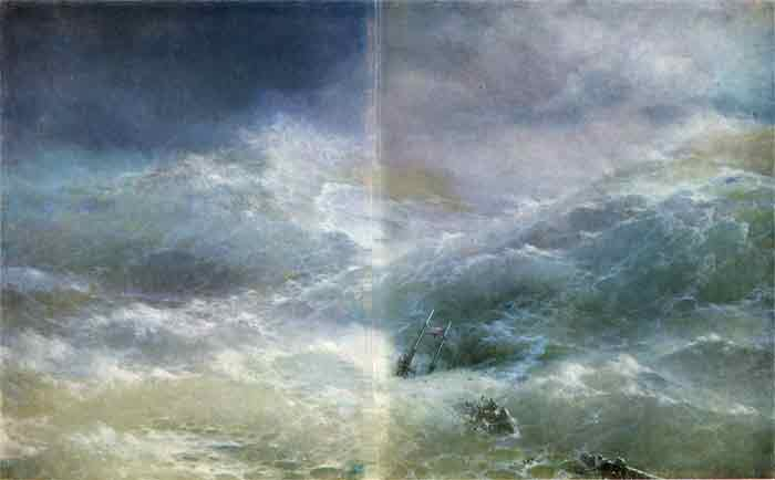 Oil painting for sale:The Wave, 1889