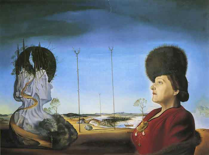 Oil painting for sale:Portrait of Mrs. Isabel Styler-Tas, 1945