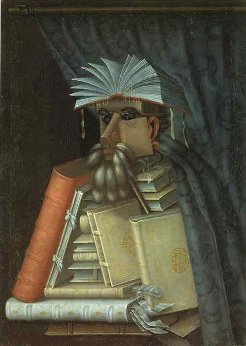 Oil painting for sale:The Librarian, 1566