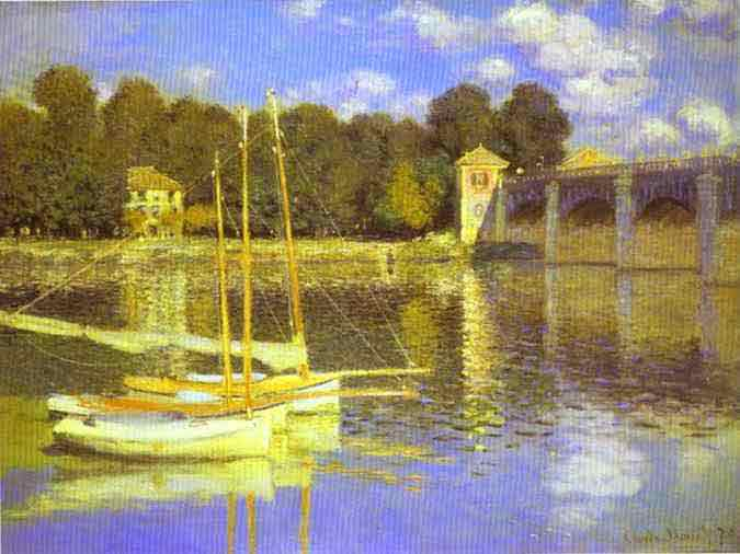 The Bridge at Argenteuil 1874.