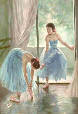 Oil painting for sale:Ballet_17