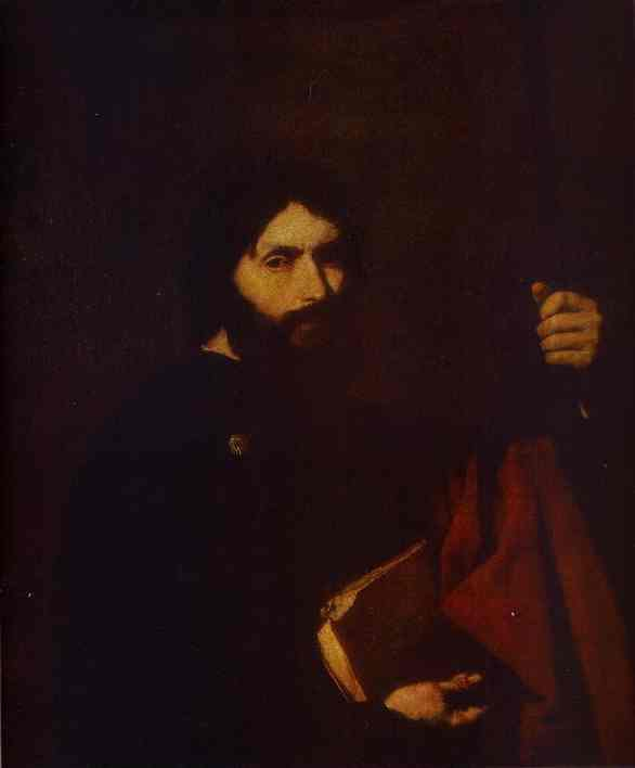 Oil painting:Apostle James the Minor.