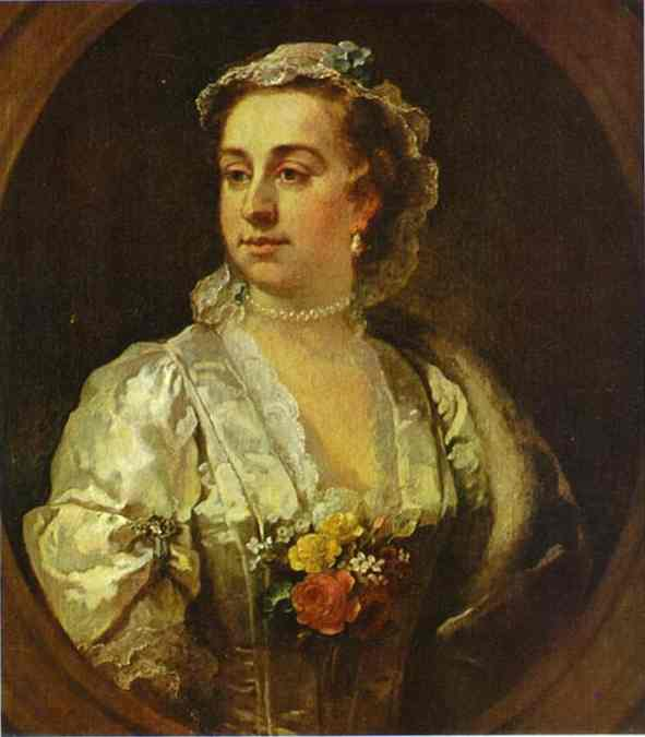 Oil painting:Mrs. Catherine Edwards. 1739